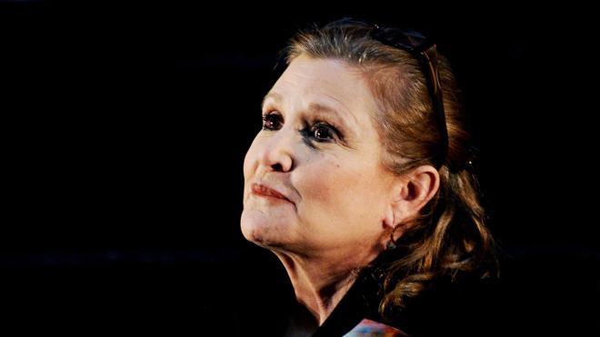 Carrie Fisher, en estado crítico tras sufrir un infarto