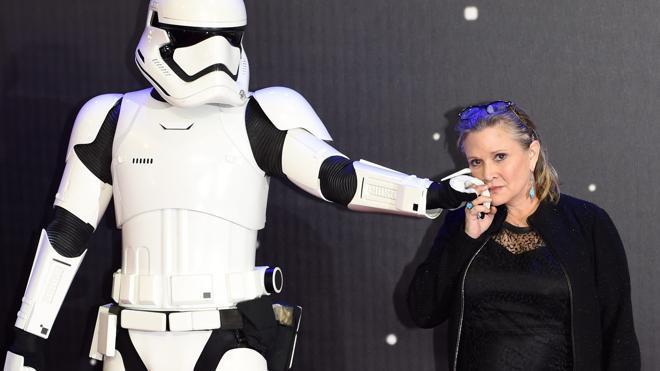 Carrie Fisher terminó de rodar el episodio VIII de 'Star Wars' antes de su muerte