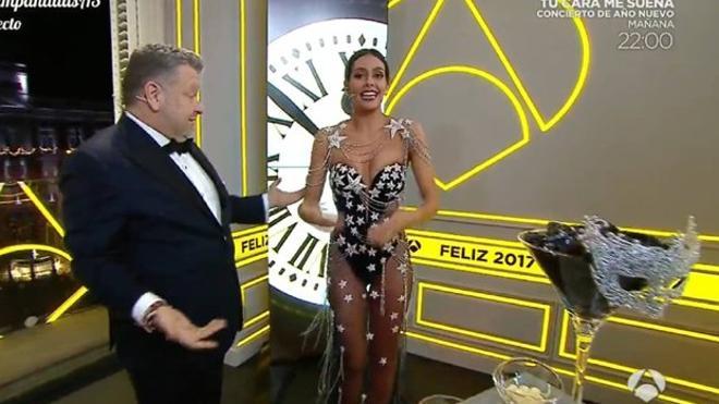 El vestido de Pedroche le da a Antena 3 su mejor dato en unas campanadas en la última década