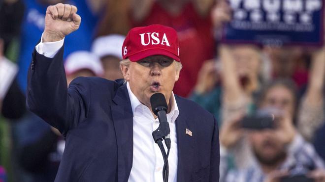Primer choque de Trump con su partido