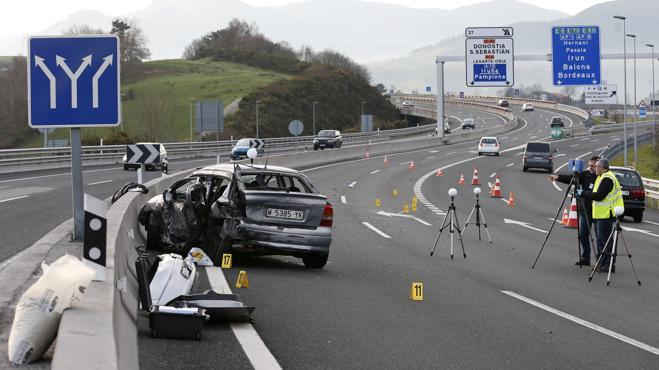 Nueve muertos en accidentes de tráfico durante el fin de semana
