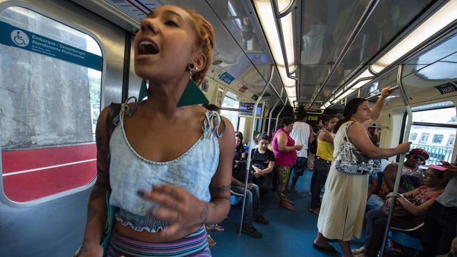 Una plegaria por la poesía vuela sobre los márgenes de Sao Paulo