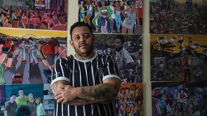 Periodismo en cómic: dibujos para contar historias reales de Brasil