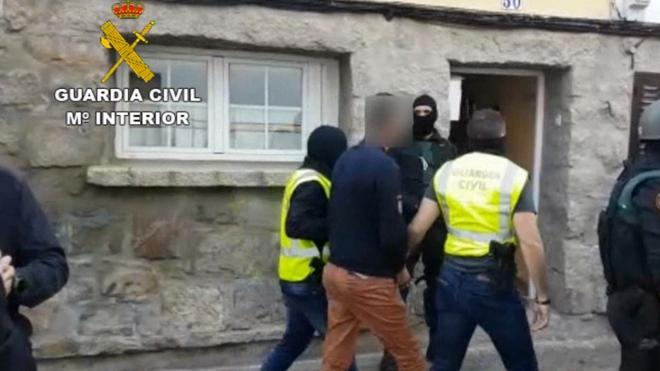 La Guardia Civil detiene a dos personas vinculadas con el egipcio arrestado en Segovia