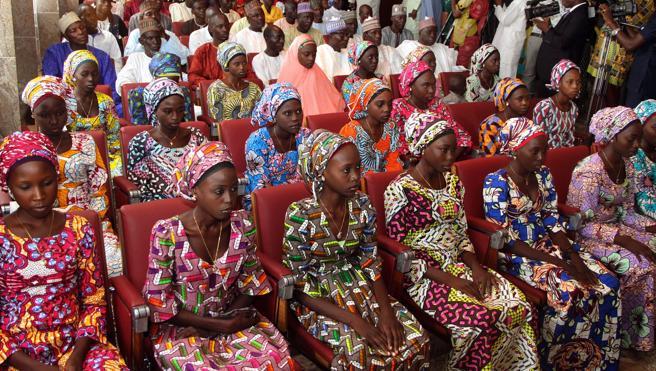 Liberadas 82 estudiantes de Chibok en un intercambio de prisioneros con Boko Haram