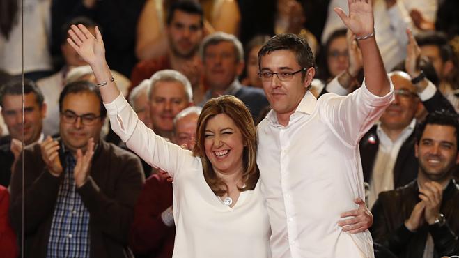Madina deja entrever que Susana Díaz contará con Patxi López si gana las primarias