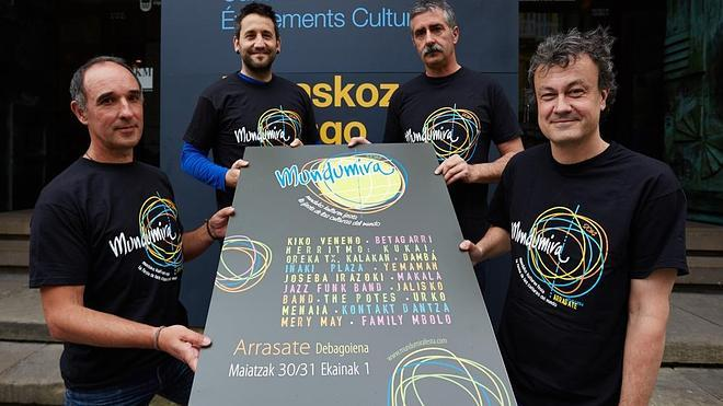 Kiko Veneno encabeza el cartel de Mundumira