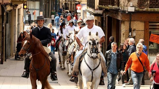 Los caballos, protagonistas en la Feria