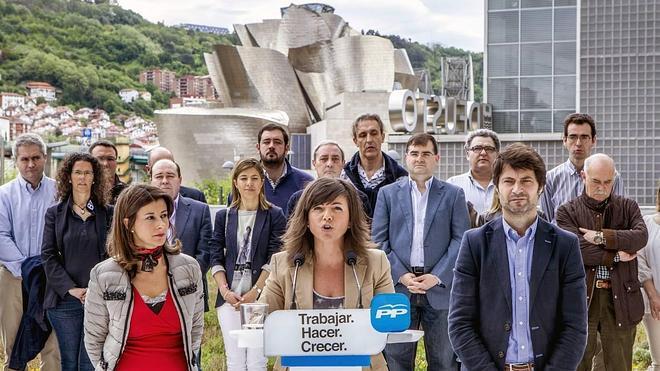 El PP vasco asegura que allí donde gobierne tras el 24-M bajará los impuestos