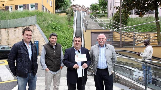 Gasco apuesta por «la movilidad vertical y mecánica» en los barrios de Donostia
