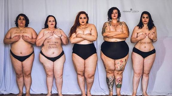 f808e4685c26 Mujeres en ropa interior defienden la belleza natural | El Diario Vasco