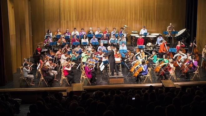 La orquesta sinfónica Taupadak ofrece su concierto este sábado en Irun