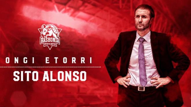 Sito Alonso ficha por el Baskonia