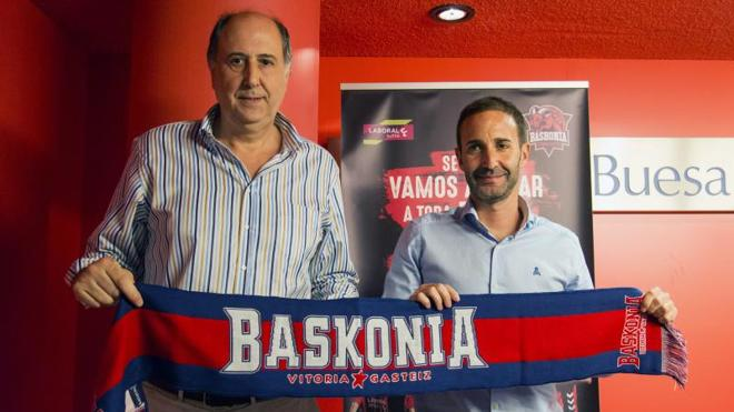 Sito Alonso destaca que «entrenar al Baskonia es el reto más importante» de su carrera
