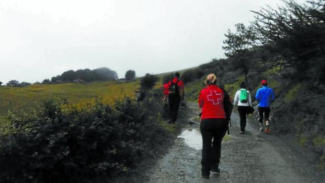 Rescatado el cuerpo del montañero desaparecido en Oñati