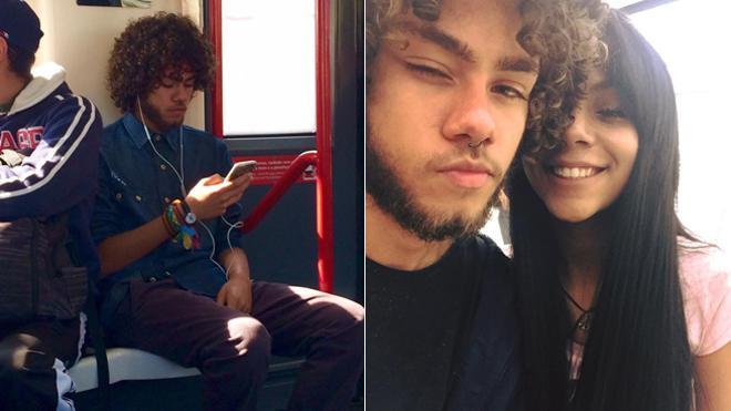 Una joven se enamora en el metro y gracias a Internet encuentra al chico