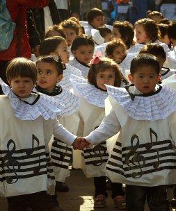 b0340cd91 Los escolares fueron los protagonistas | El Diario Vasco